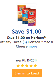 kroger horizon coupon