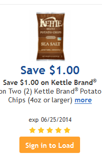 kroger kettle coupon