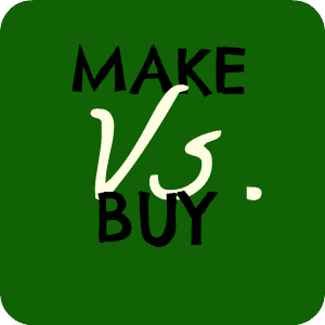 make at home vs. buy in store