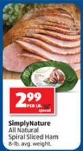 natural ham aldi