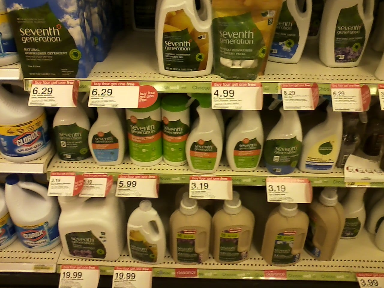 seventh generation sale target