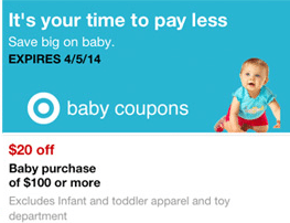 target baby mobile coupon