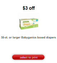 babyganics diaper coupon target