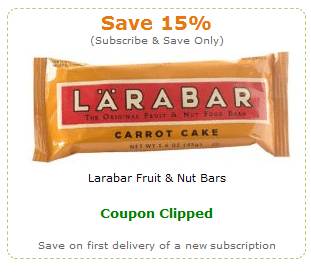 larabar coupon amazon