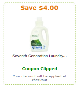 seventh generation amazon coupon