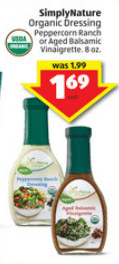 simply organic dressing aldi sale