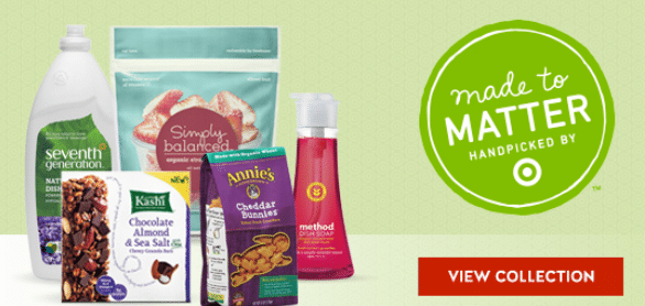 target cartwheel natural and organic coupons