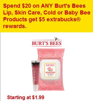 CVS Burt's Bees sale