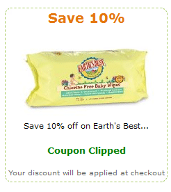 amazon earth's best diaper coupon
