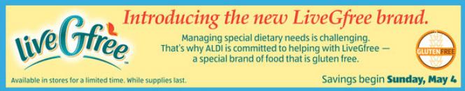 livegfree aldi gluten-free line