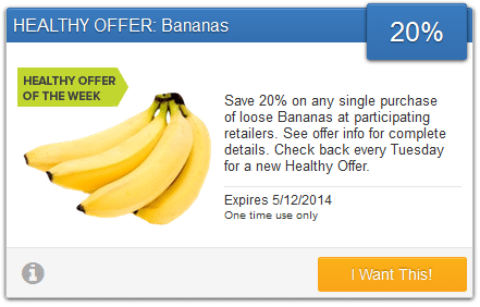 savingstar banana coupon