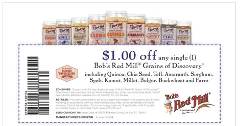 bob's red mill coupoons