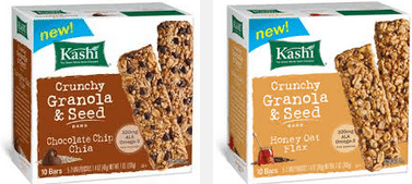 kashi crunch granola and seeds