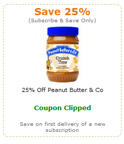 peanut butter and co couponn