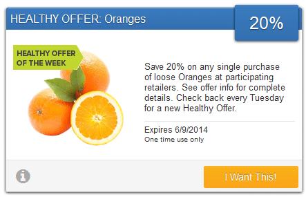 savingstar orange coupon