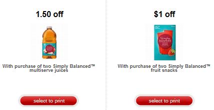 organic target coupons