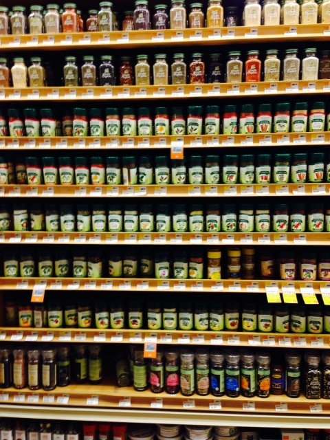 packaged spices