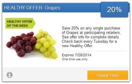 savingstar grapes