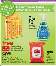target organic deals 727