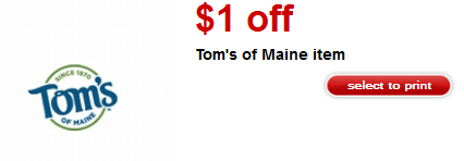 tom's of maine target coupons