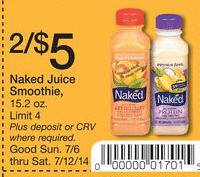 walgreens naked juice