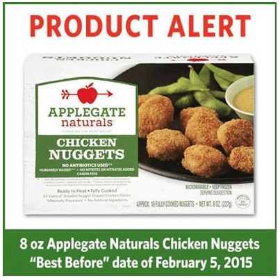 applegate product recall