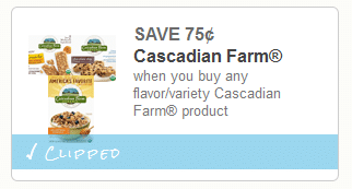 cascadian coupon