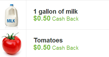 checkout 51 milk and tomatoes