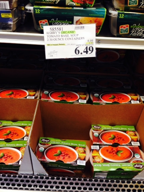 costco organic soup