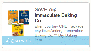 immaculate baking coupon