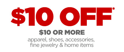 jcpenney 10 off coupon
