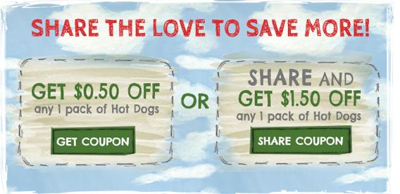 new applegate hot dog coupon