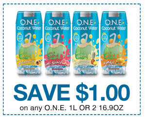 one coconut water coupon
