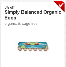 target organic eggs
