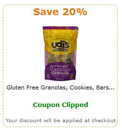 udi's coupon