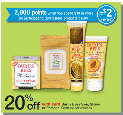 walgreens burts bees deals