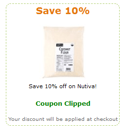 amazon nutiva coupon