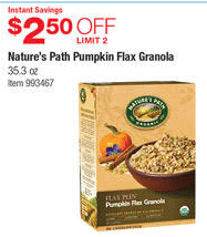 costco natures path