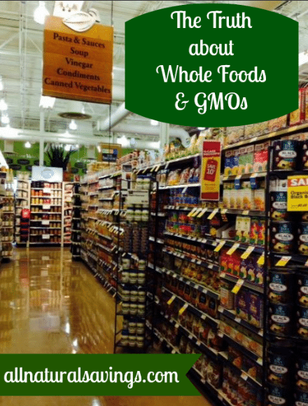 does whole foods carry gmo food