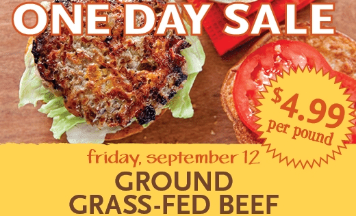 grass fed beef whole foods sale