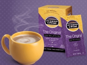 oregon chai coupon