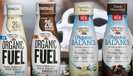 organic valley protein shake coupons