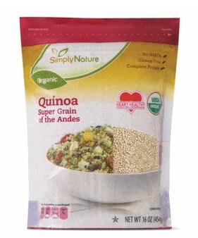 simplynature organic quinoa