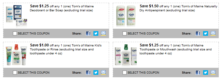 toms of maine printable coupons