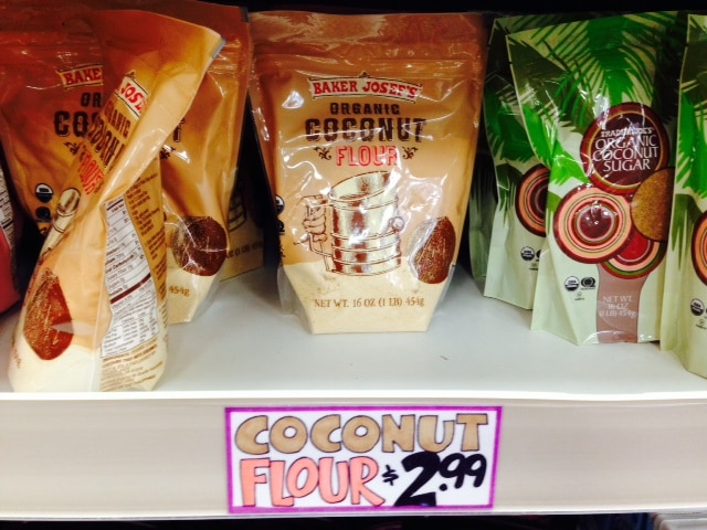 trader joes coconut flour