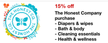honest company target mobile coupon