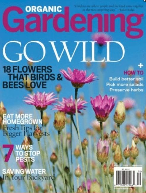 organic gardening magazine deal