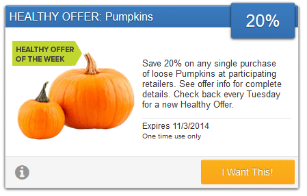 pumpkin savingstar