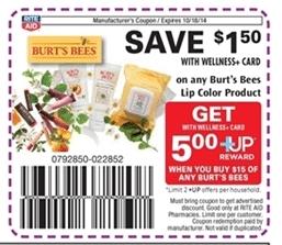 rite aid burts bees coupon
