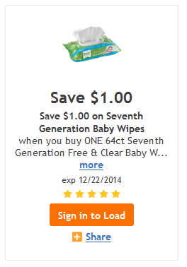 seventh generation wipes kroger coupon